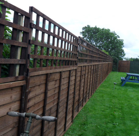 new garden fence swansea